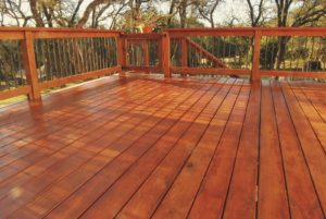 deck staining Fort Collins