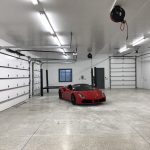 Commercial Garage Interior Painting