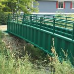 Metal Bridge Painting